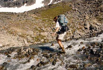 Fjällvandring med toppbestigning av Kebnekaise juli 1997